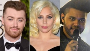 Sam Smith - Lady Gaga - The Weeknd